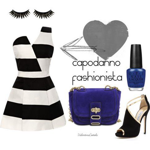 capodanno con un outfit da fashionista