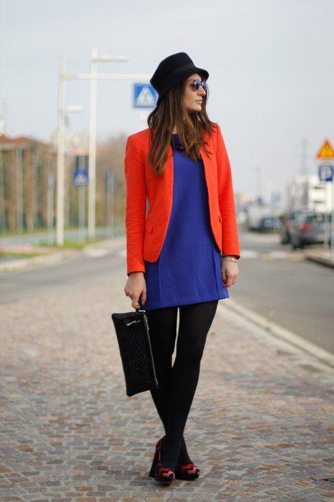 Un look colorato per rallegrare Gennaio!