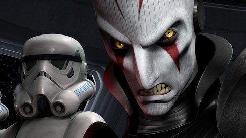 L'inquisitore da Star Wars Rebels - foto ign.com