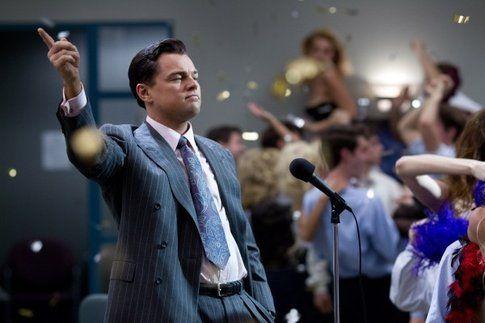 Una scena di The wolf of Wall Street - foto da movieplayer.it