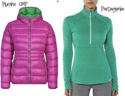 Valigia per la Settimana Bianca: Piumino Cmp e maglia termica Patagonia