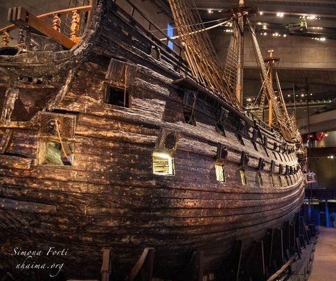 Museo del Vascello Vasa a Stoccolma - Foto di Simona Forti