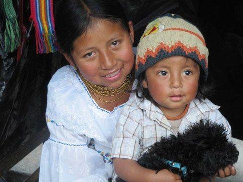 Bambini di Otavalo - Foto by www.viaggiare-low-cost.it