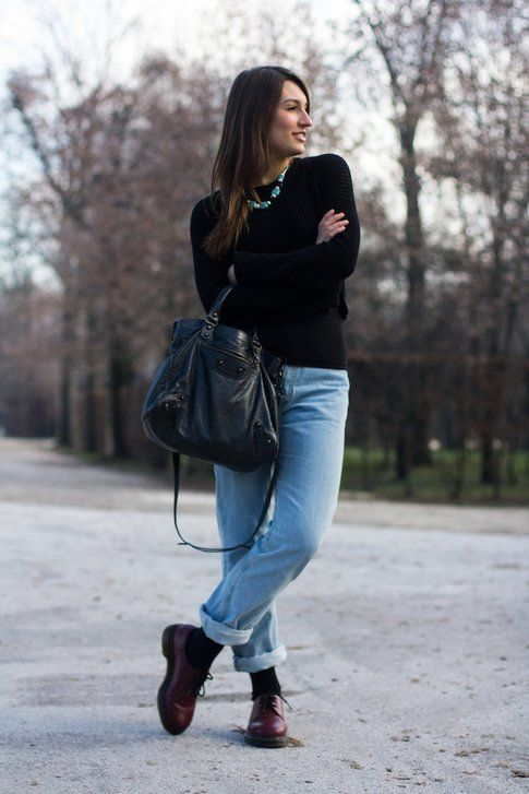 Outfit per il weekend: jeans vintage