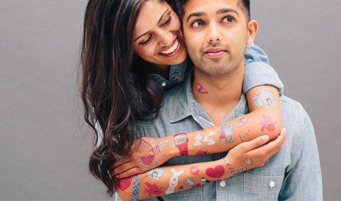 Tatuaggi Temporanei: trova quello perfetto per te! Foto : Tattly.com