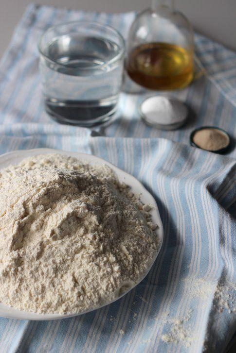 tutorial focaccia rapida: gli ingredienti