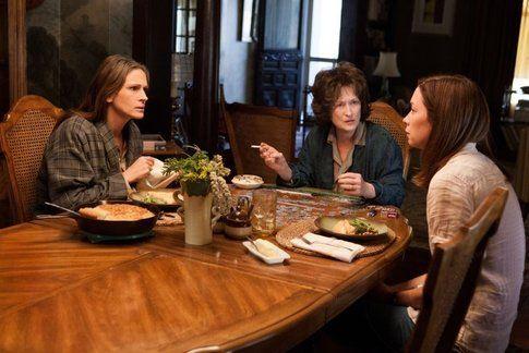"""Una scena de """"I segreti di Osage County"""" - foto da movieplayer.it"""