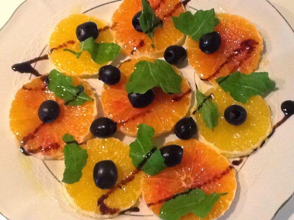 insalata di arance ricetta