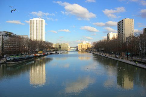 Canal de la Villette - foto di Elisa Chisana Hoshi