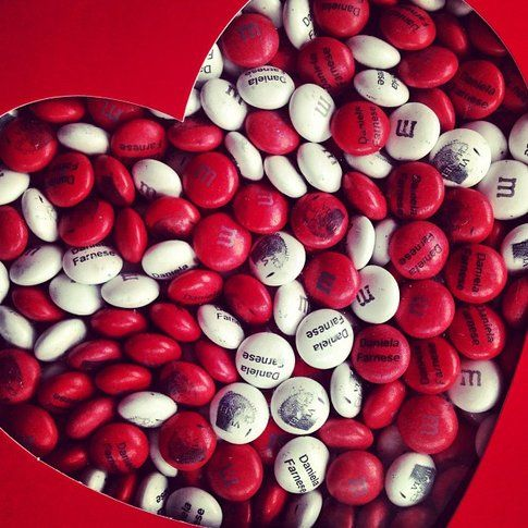 San Valentino: Idee Regalo per Lui! - M&M con foto e frasi scelte da te!