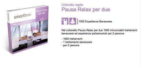 Smartbox Pausa Relax per due