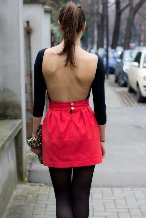 Outfit San Valentino: Sorprendilo con una scollatura sulla schiena!
