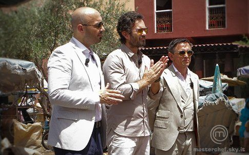 I giudici di Masterchef a Marrakech - foto Masterchef.sky.it