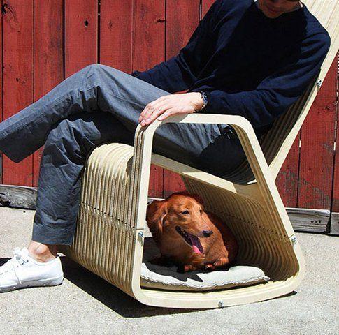 Paul Kweton- sedia a dondolo