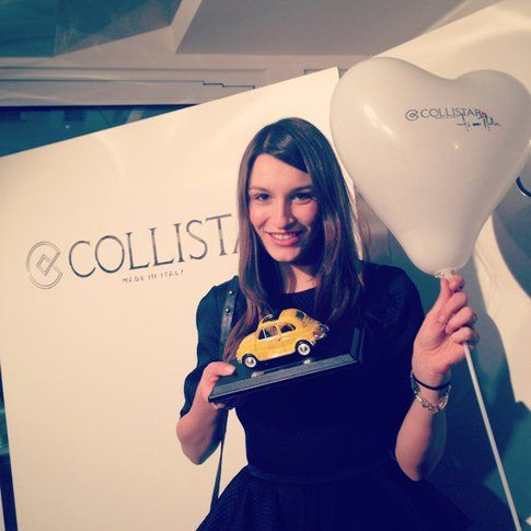 "Carlotta all'evento Collistar ""Ti amo Italia"" con Antonio Marras"