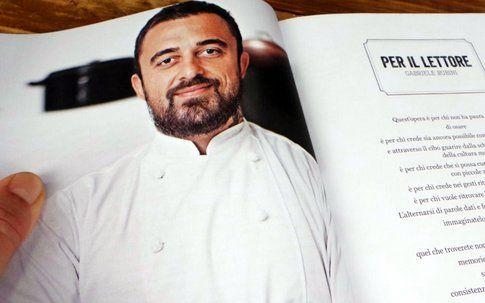 Chef Rubio, in una foto di Giulio di Mauro tratta dal libro