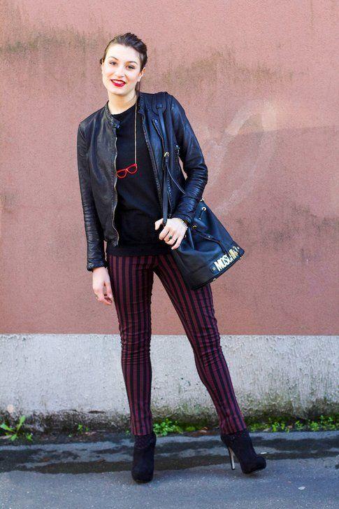 Pantaloni Rigati: il mio outfit rock!