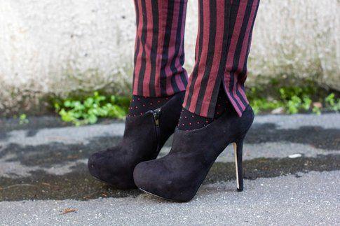Pantaloni Rigati: il mio outfit rock! - Scarpe Asos
