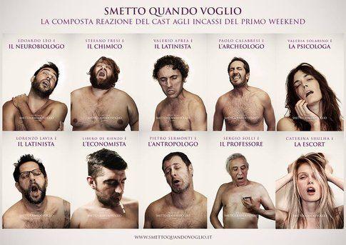 """Poster """"Smetto quando voglio"""" versione Nymphomaniac - design by Federico Mauro"""