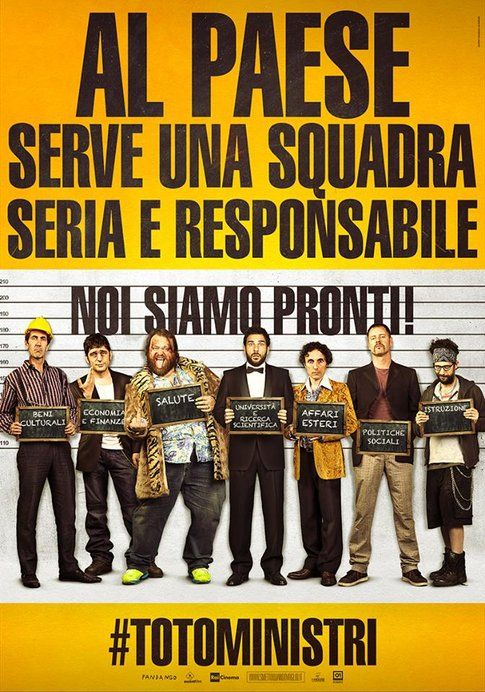 """Poster """"Smetto quanto voglio"""" #totoministri - design by Federico Mauro"""
