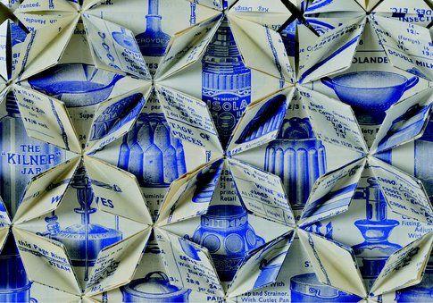 Francisca Prieto Between Folds. Blue Catalogue