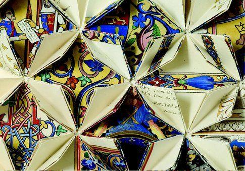 Francisca Prieto Between Folds. Iluminated