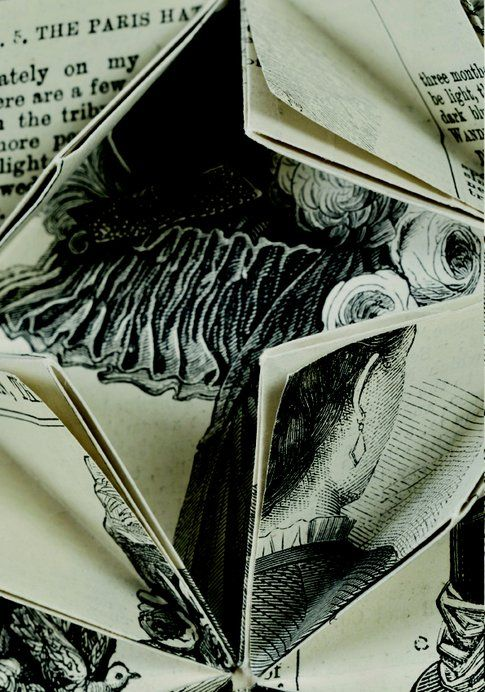 Francisca Prieto Between Folds.The Lady's Newspaper