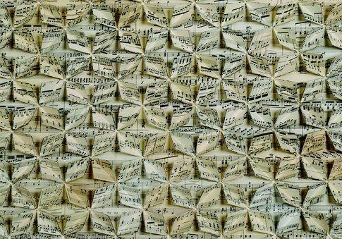 Francisca Prieto Between Folds. Sheet Music Underscore