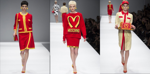 new style 4a65b 9461f Milano Fashion Week 2014: Moschino, I'm lovin' it! | Bigodino