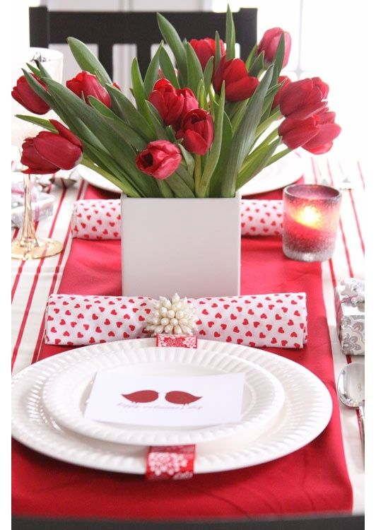 san valentino come preparare la tavola