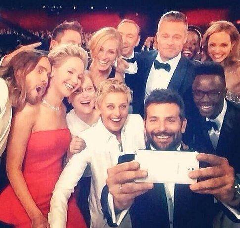 Selfie via Twitter @TheEllenShow