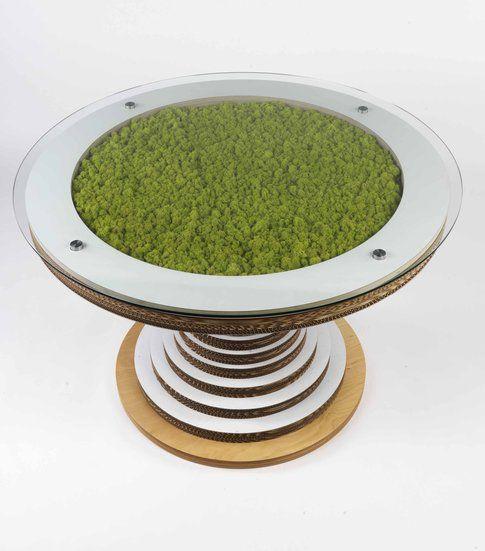 Lessmore collezione Ecodesign.Tavolo Clessidra