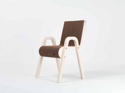 Lessmore collezione Ecodesign. Sedia Less