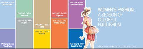 Make-up Primavera 2014: Segui il trend del momento! Fonte- Pantone