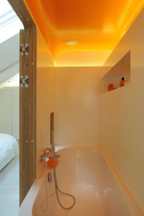 Il bagno arancione