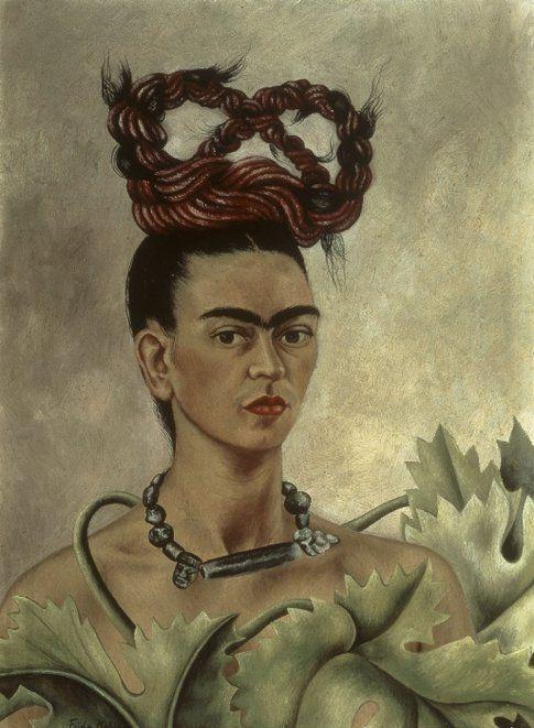 Frida Kahlo. Autoritratto con treccia© Banco de México Diego Rivera & Frida Kahlo Museums Trust by SIAE 2014