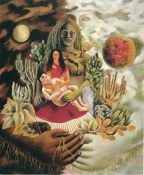 Frida Kahlo. L'amoroso abbraccio dell'universo© Banco de México Diego Rivera & Frida Kahlo Museums Trust by SIAE 2014