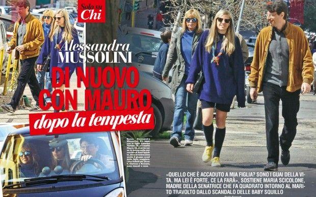 Alessandra Mussolini: Mauro è pur sempre mio marito!