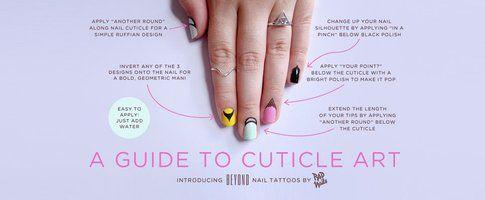 Rad Nails - Cuticle Tattoo
