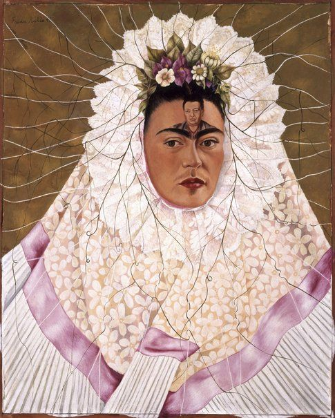 Frida Kahlo Autoritratto come Tehuana (o Diego nei miei pensieri)© Banco de México D.Rivera & F.Kahlo Museums Trust by SIAE 2014