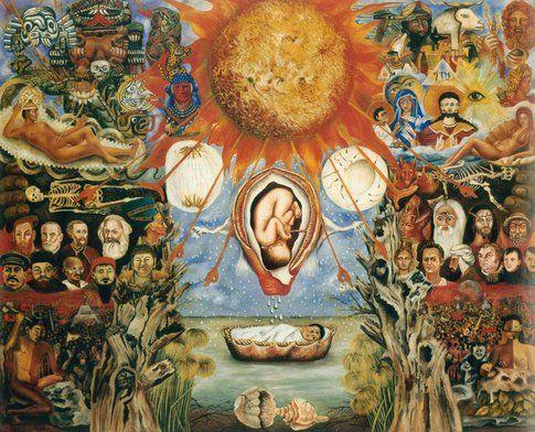 Frida Kahlo Moses o Nucleo Solare© Banco de México Diego Rivera & Frida Kahlo Museums Trust by SIAE 2014