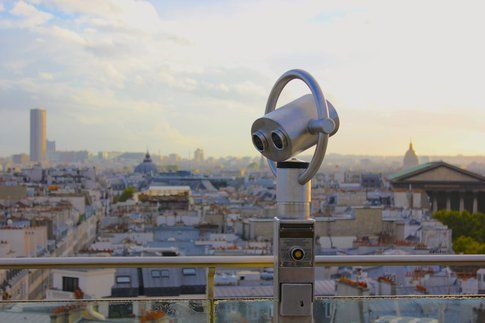Parigi dall'alto - foto di Elisa Chisana Hoshi