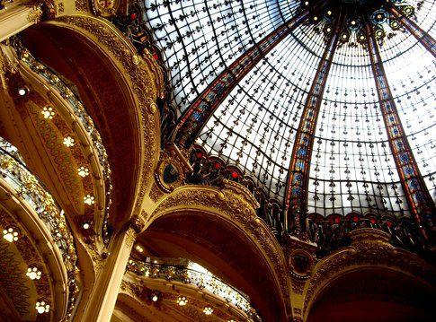 Le Galeries Lafayette - foto di Elisa Chisana Hoshi