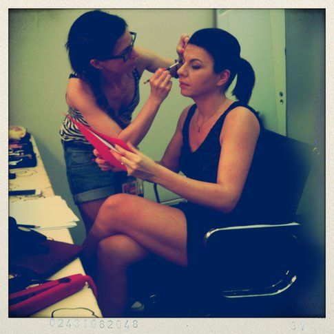 Geppi Cucciari make-up - Sara Di Stefano