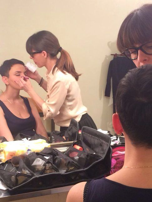 Arisa make-up - Sara Di Stefano