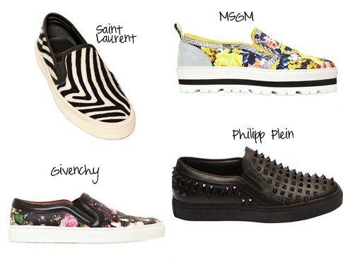 Slip On Mania: le proposte di YSL, MSGM, Philipp Plein e Givenchy