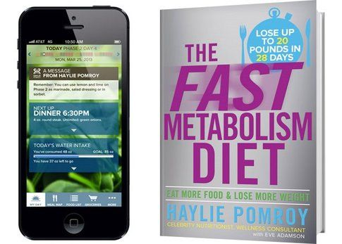 "App e libro ""The Fast Metabolism Diet"""
