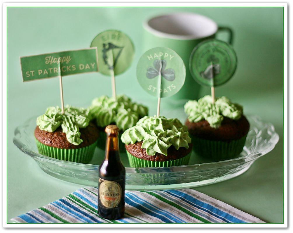 E i cupcake con Guinness!