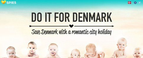 Il banner di Do it for Denmark