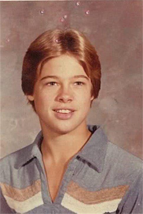 Brad Pitt ieri